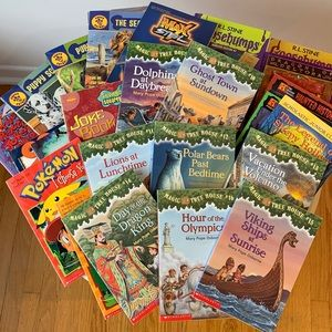 Bundle 25 SCHOLASTIC Books